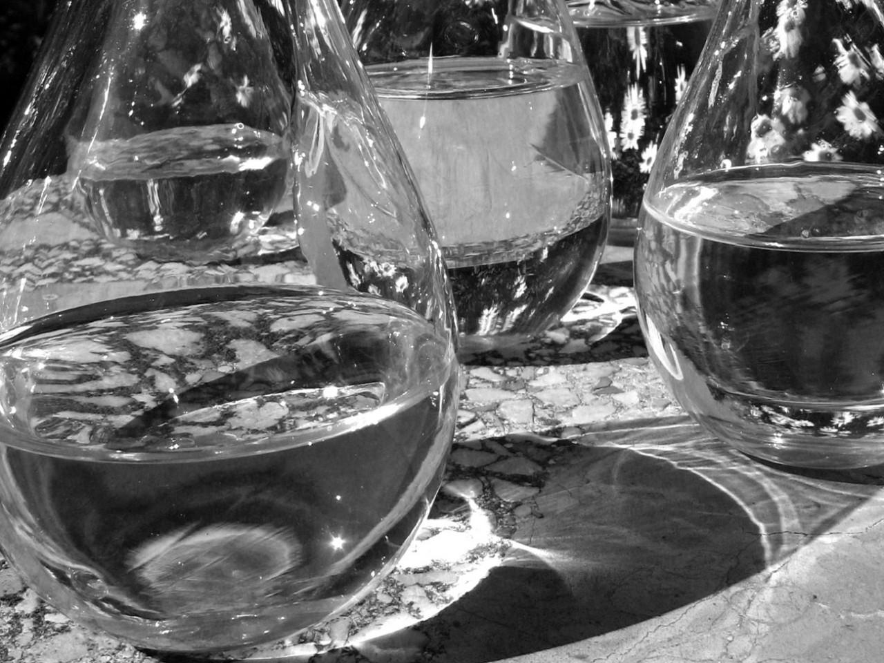botellas sopladas forma de gota