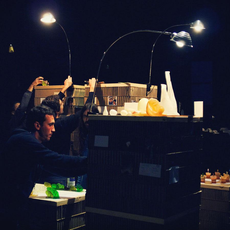 talleres creativos, manipulamos azucar con tecnicas vidrieras