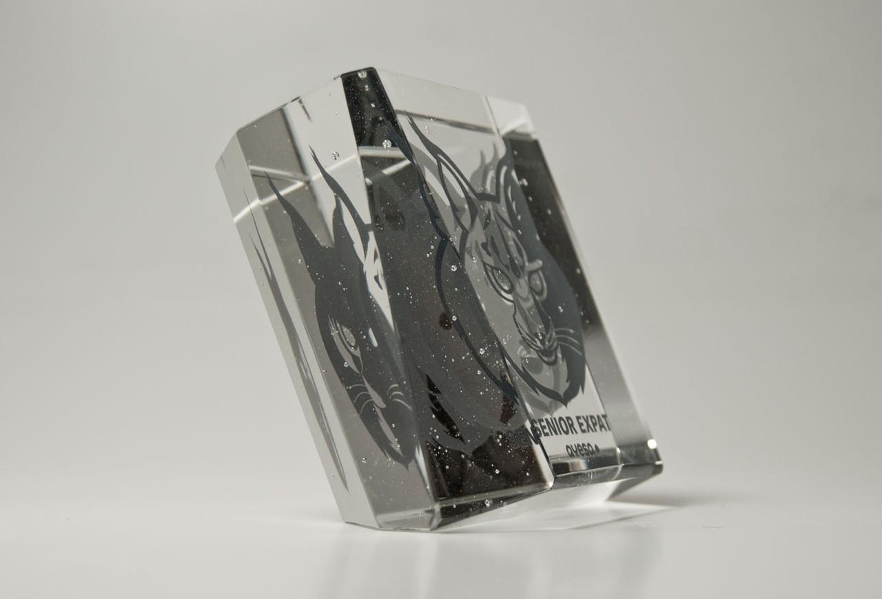 regalo empresa cristal